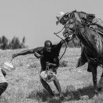 Guardia fronteriza estadounidense caza a migrantes de Haití