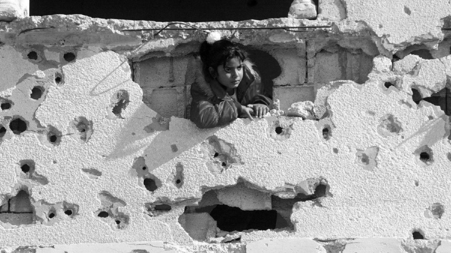 Palestina niña ataques israelies la-tinta
