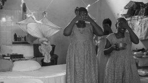 Mujeres presas en Freetown