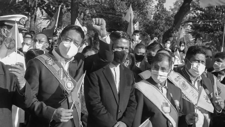 Bolivia Luis Arce presidente la-tinta
