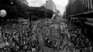 Nueva protesta multitudinaria contra Jair Bolsonaro en todo Brasil