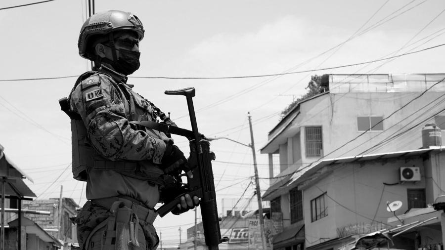Ecuador militarizacion la-tinta