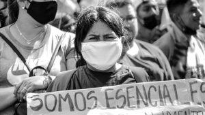 """Somos esenciales"": un reclamo que se hizo escuchar"