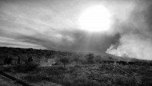 El incendio en el norte provincial sigue activo y ya hay dos fallecidos